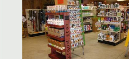 Nickel Plate Mills in Erie, PA carries pet food, supplies and care products.